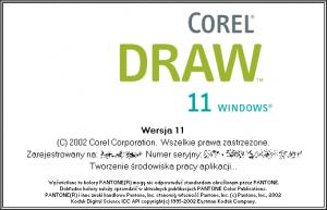 CorelDraw v11.0