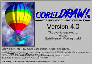 CorelDraw v4.0