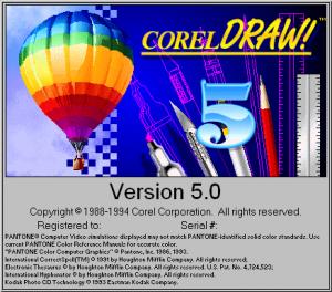 CorelDraw v5.0