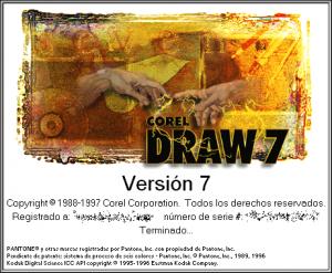 CorelDraw v7.0