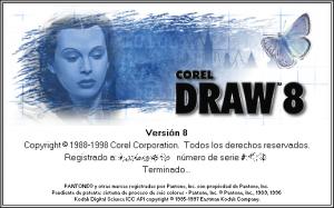 CorelDraw v8.0