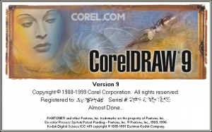CorelDraw v9.0