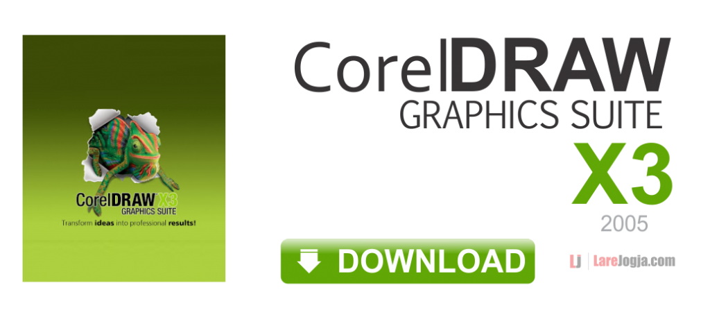 Gratis Download CorelDraw Graphics Suite X3
