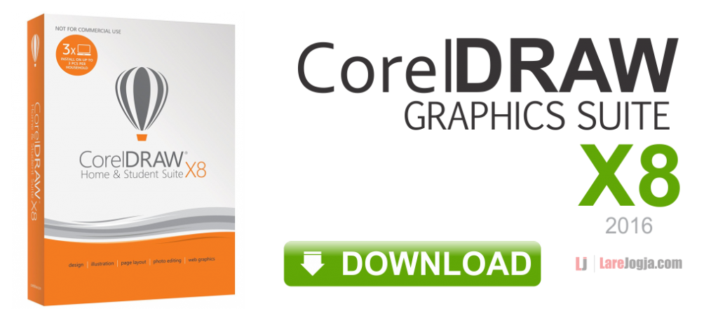 Gratis Download CorelDraw Graphics Suite X8