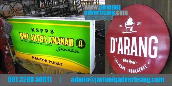 Jasa Advertising Jogja Neon Box Akrilik BMT Artha Amanah Di Yogyakarta