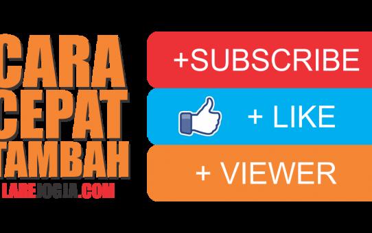 Cara menambah subscribe youtube dengan cepat