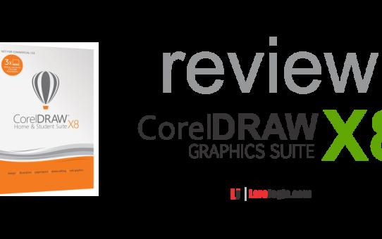 Spesifikasi CorelDRAW Versi X8