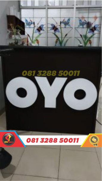 harga huruf timbul oyo rooms rembang