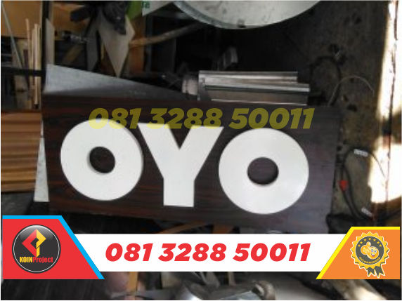toko huruf timbul murah oyo rooms Di Jogja