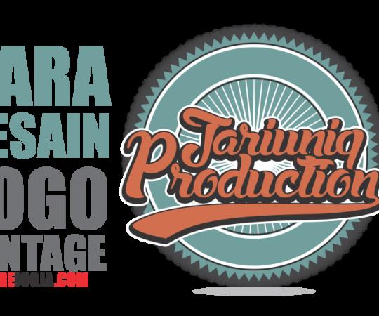 Cara desain logo vintage di CorelDRAW