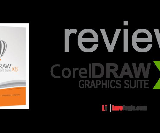 Review CorelDRAW versin X8